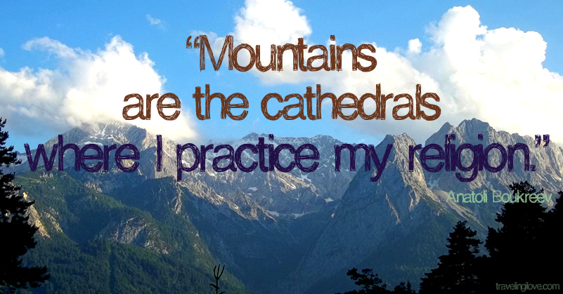 gallery for inspirational mountain pictures