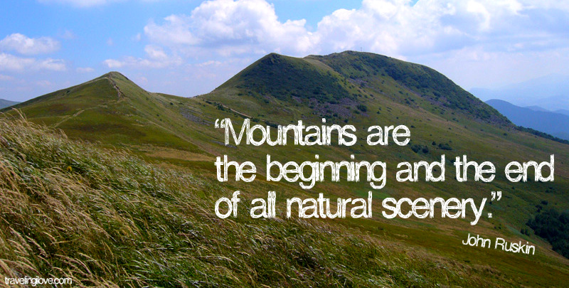 Quotes About Mountains And Nature. QuotesGram